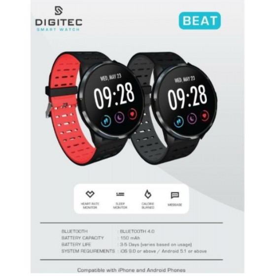 Digitec BEAT 11190005 Smart Watch Jam Sporty