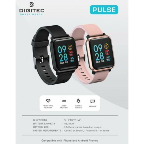 Digitec Smartwatch Pulse