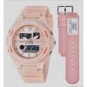 Jam Tangan DIGITEC BDA-3095T Sport Wanita pink muda