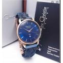 Alexandre Christie AC 2857 biru rosegold blue