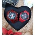 Digitec DualTime Couple DG-3112& DG-2096 BDA-4130T  RED